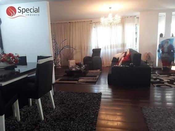 Sobrado Com 3 Dormitórios À Venda, 300 M² - Anália Franco - São Paulo/sp - So7235