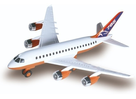 Avião Infantil Veiculo Airlines Brinquedo Grande Aeromodelo