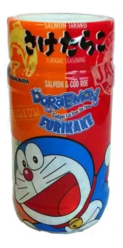 Imagen 1 de 3 de Furikake Sazonador De Salmón Y Bacalao Doraemon Japones