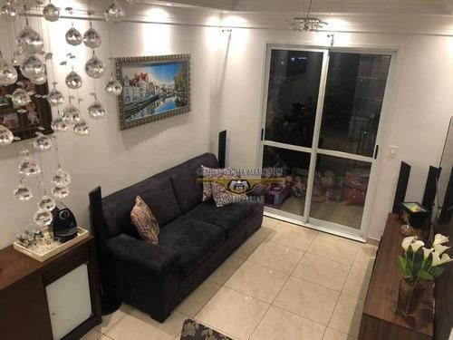 Apartamento Com 3 Dormitórios À Venda, 69 M² Por R$ 560.000,00 - Tatuapé - São Paulo/sp - Ap2818