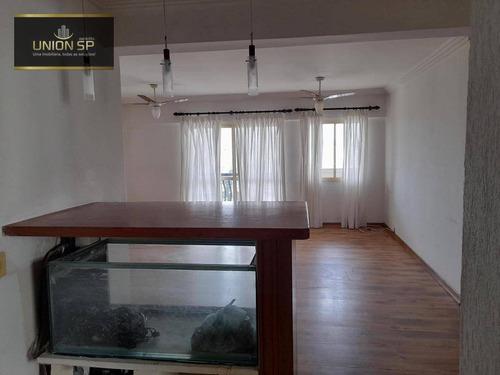 Apartamento Com 3 Dormitórios À Venda, 112 M² Por R$ 1.400.000 - Moema - São Paulo/sp - Ap49121