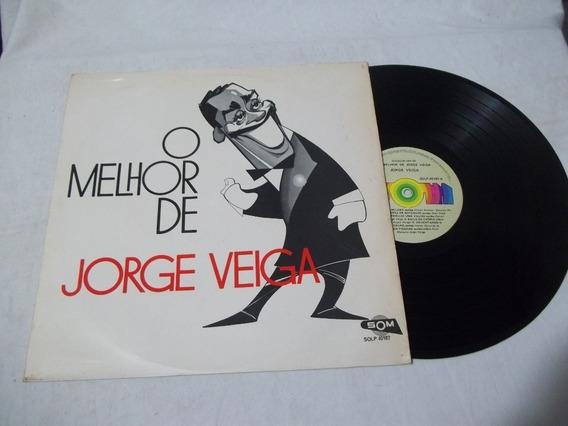 Vinil Lp - O Melhor De Jorge Veiga - Samba - Mpb