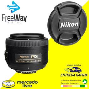 Lente Nikon 35mm F/1.8g Af-s Dx Autof+paras+case