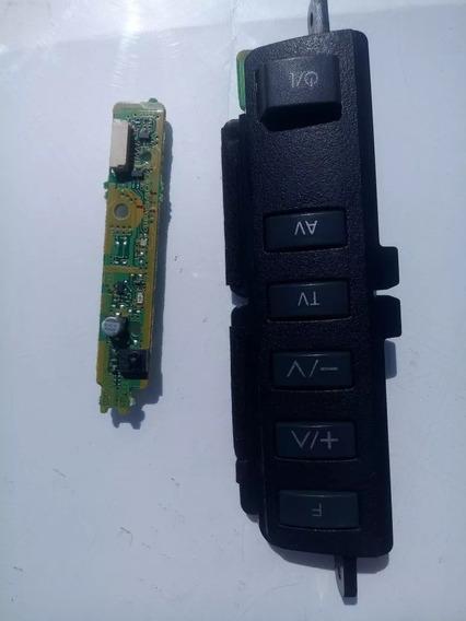 Teclado De Funções Panasonic Tc L42u30b +sensor Remoto