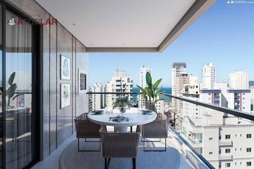 Apartamento Com 3 Suítes À Venda, 108 M² - Meia Praia - Itapema/sc - Ap2017