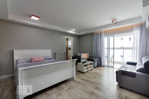 Apartamento Para Aluguel - Ponta Da Praia, 1 Quarto,  51 - 893343882
