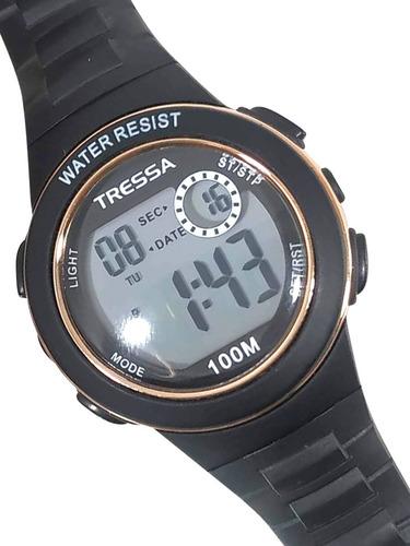 Reloj Digital Tressa Mina Sumergible Nenas Mujer Garantia