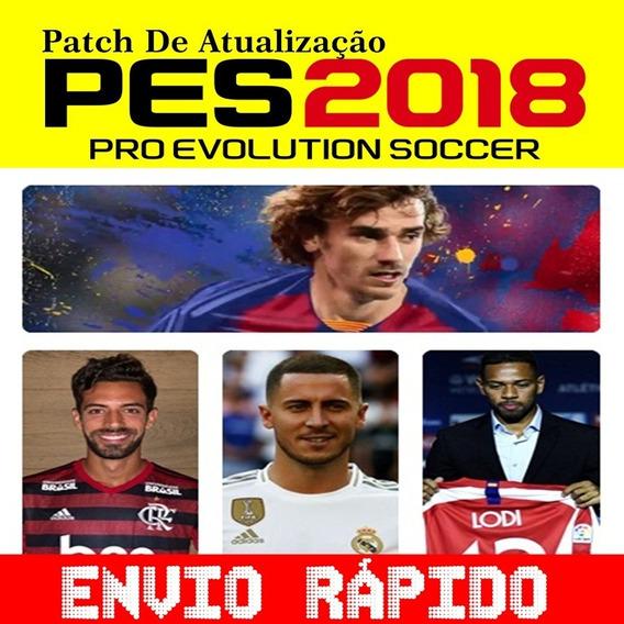 Super Patch Pes 2018 Atualização Elencos Nova Temporada 2019