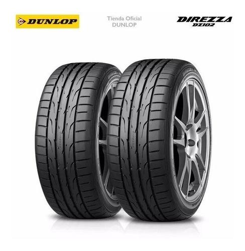 Kit X2 Cubiertas 205/55r15 (88v) Dunlop Direzza Dz102