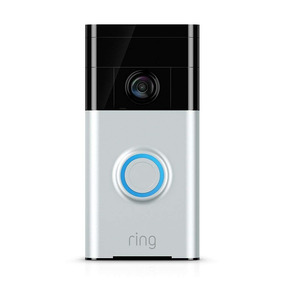 Campainha Com Vídeo Audio Wireless Ring Doorbell 12x S Juros