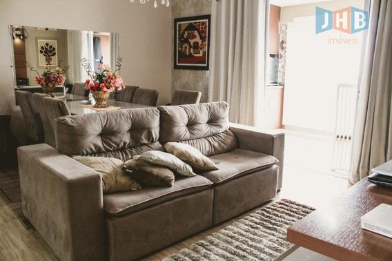 Apartamento Com 2 Dormitórios À Venda, 75 M² Por R$ 410.000 - Jardim Das Indústrias - São José Dos Campos/sp - Ap1988