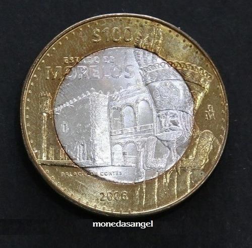 Imagen 1 de 4 de Moneda De 100 Pesos De Los Estados