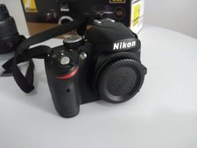 Câmera Nikon D3200 - Pouquíssimo Usada (1537 Clicks)