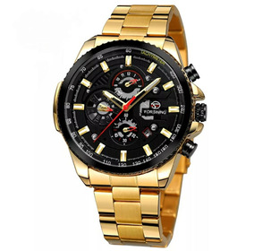 Relógio Masculino Mecânico Automático Luxo+ Brinde Exclusivo