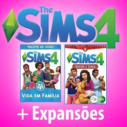 The Sims 4 + Todas Expansões E Pacotes - Envio Online