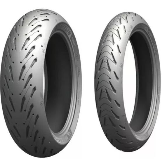 Par Pneu 120/70-17 + 180/55-17 Michelin Road 5 Radial
