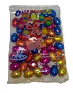 Ovinhos De Chocolate Marisbel 375g Pacote C/50 Unidades