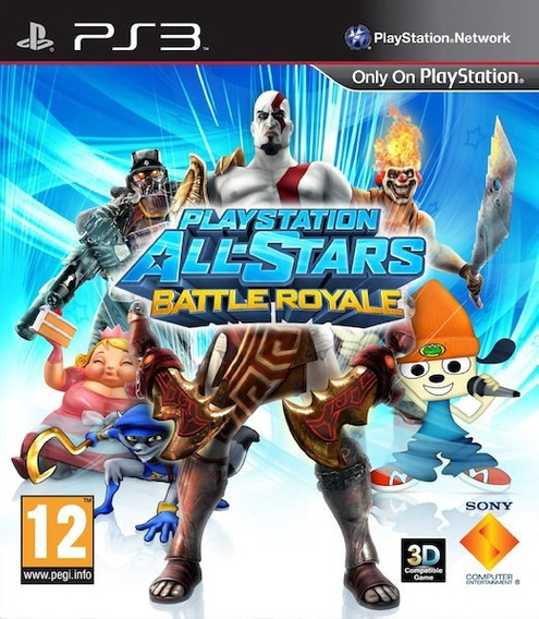 Playstation All Stars Battle Royale Ps3 Psn Digital