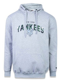 b37d7a9ed Moletom Canguru Fechado New York Yankees Mlb New Era 43387