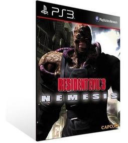 Resident Evil 3 Nemesis Ps3 Midia Digital Psone Classic
