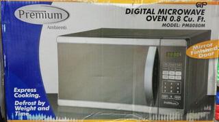 Horno Microondas 23 Litros Digital Premium 0.8 Cu