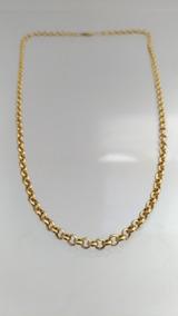 Cordão Elo Português 9,3grs Em Ouro 18k - 45cm - Outlet