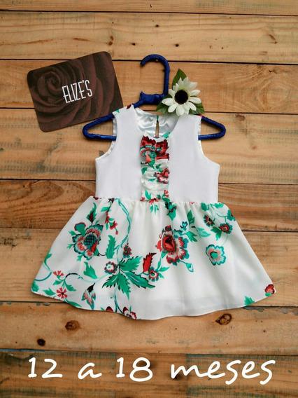 Vestido Infantil Menina Roupa Infantil Branco