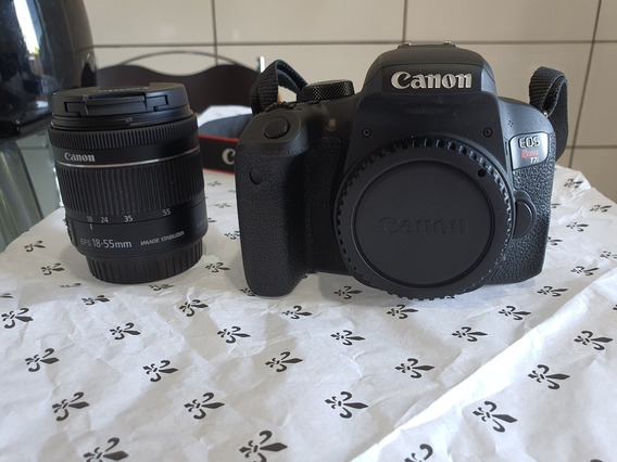 Canon T7i Com A Lente Do Kit 18-55