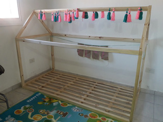 Casita Cama Montessori 1 Plaza!!