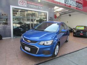Chevrolet Sonic 4p Lt L4/1.6 Aut 2017 Azul
