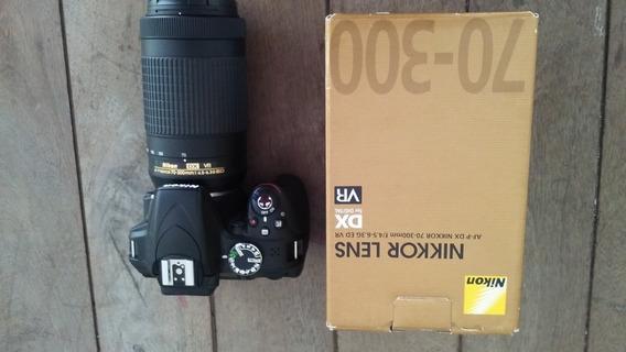 Nikon Reflex D3300 C/70-300mm