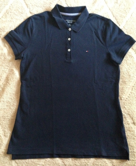 Remera Chomba Tommy Hilfiger Mujer Azul S Original Impecable