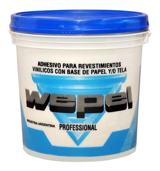 Adhesivo Wepel Profesional Pegamento Empapelar 4kg Cuotas