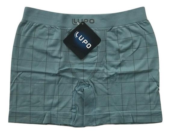 Kit 5 Cuecas Boxer Microfibra Lupo Cueca Box Sem Costura