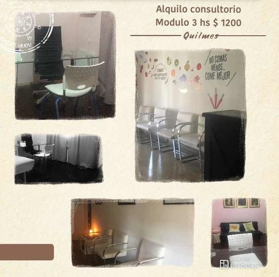 Alquilo Consultorio En Quilmes . Modulo De 3 Hs $ 1200