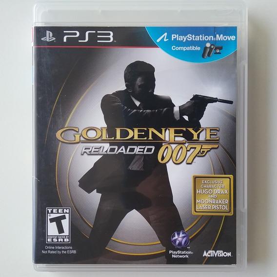 007 Golden Eye Reloaded Ps3 Mídia Física Original Perfeito