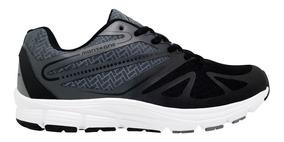 Zapatillas Running Montagne Unisex Jump Negro -gris