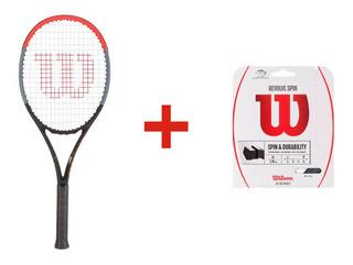 Raquete De Tênis Wilson Clash 100l L3 + Corda