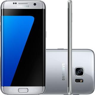Smartphone Samsung Galaxy S7 Edge Prata 32gb Recondicionado