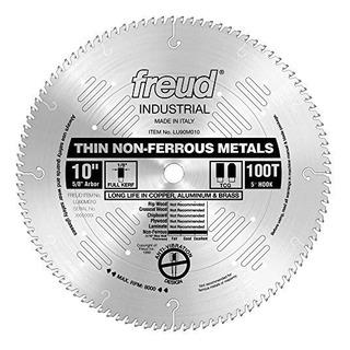 Freud 10 X 100 T Delgada Hoja De Metal No Ferroso Lu90m010