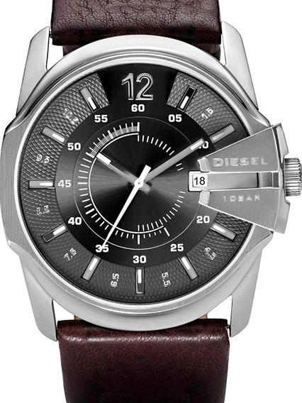 Reloj Diesel Master Chief Para Hombres 46mm, Pulsera De Piel