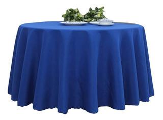 Mantel Ovalado Rectangula Unicolor Linopoliester 150cmx220cm