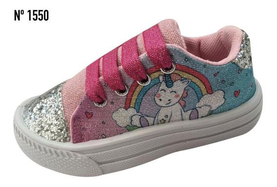 Zapatillas Y Panchas Para Niñas Unicornio Excelente Calidad!