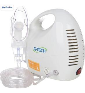 Aparelho Nebulizador Inalador G-tech Nebcom 4 110/220v Novo