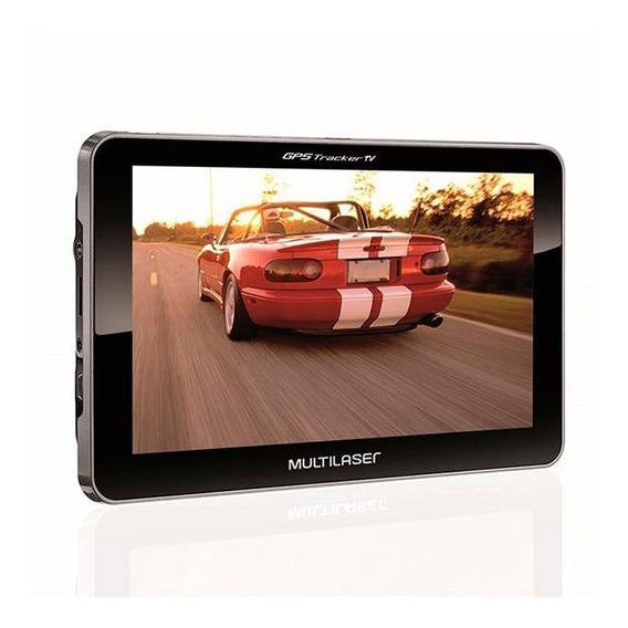 Gps Multilaser Tela Lcd 7 Polegadas Tv Digital Gp038 Loi