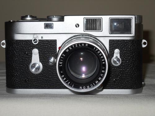 Camara Fotografica Leica - Objetivo Leitz Summicron 50 Mm F2