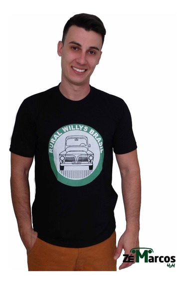 Camisa Masculina Rural Willys