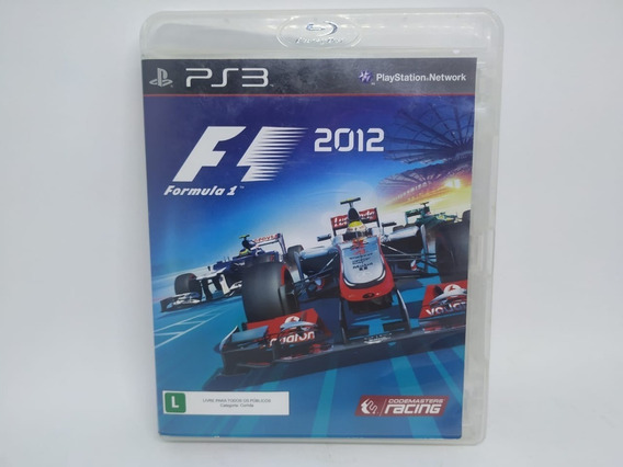 F1 2012 Original Playstation 3 Ps3 Mídia Física Usado