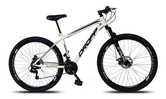 Bicicleta Aro 29 Quadro 19 Aço 21 Marchas Suspensão Freio A