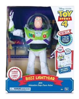 Buzz Lightyear Animatronico Sonidos Español Toy Story 4 Buzz